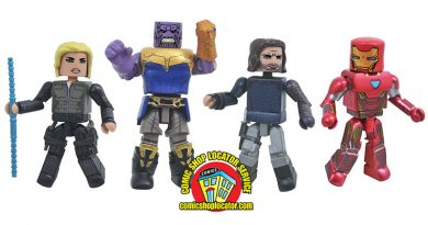 Avengers: Infinity War Begins with Diamond Select Toys!