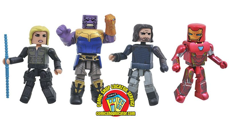Avengers Minimates Box Set