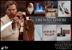 Hot Toys Obi-Wan Kenobi Accessories