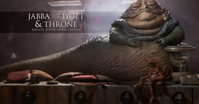 Sideshow Offers New 1:6 Scale Jabba the Hutt With Throne