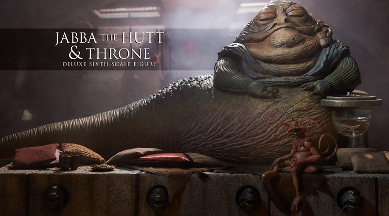 Sideshow Deluxe Jabba Throne Banner