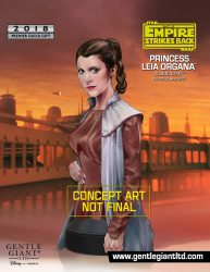 Gentle Giant Bespin Leia