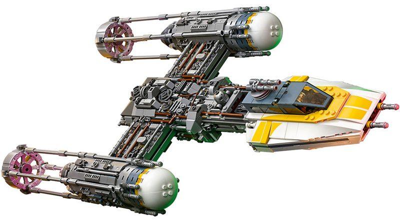 Lego UCS Y-Wing Banner