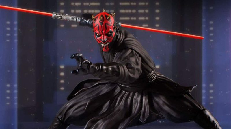 Gentle Giant Collector's Gallery Darth Maul Banner