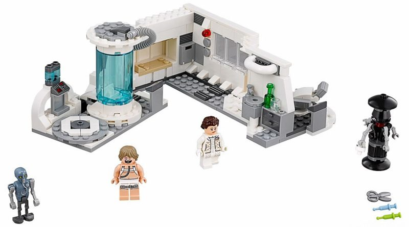Lego 75203 Hoth Medical Chamber Banner