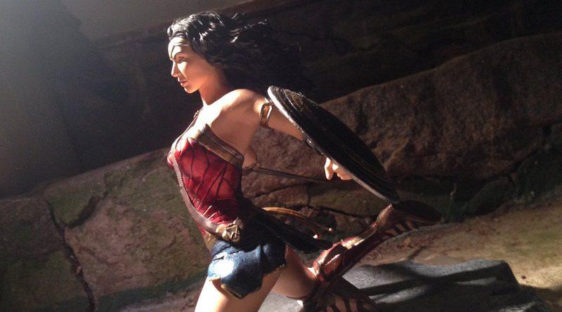 DST PVC Wonder Woman Banner