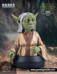 GG SDCC RMQ Yoda Mini Bust