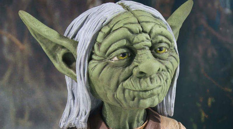 GG SDCC RMQ Yoda Mini Bust Banner