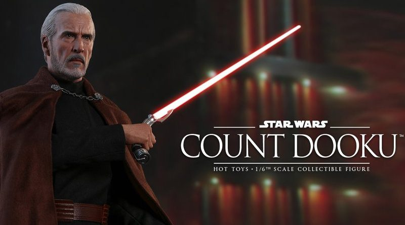 Hot Toys Attack of the Clones Count Dooku