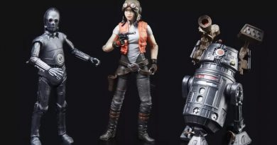 SDCC Exclusive Vintage Collection Doctor Aphra, BT-1 and 0-0-0 3-Pack