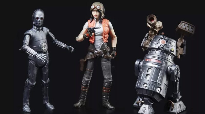 Hasbro SDCC18 Aphra 3pack Banner