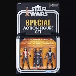 Hasbro SDCC 2018 Aphra 3-Pack Boxed