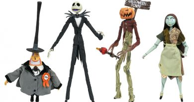 In Stores Now: Diamond Select Toys Superman, Deadpool and Nightmare Before Christmas!