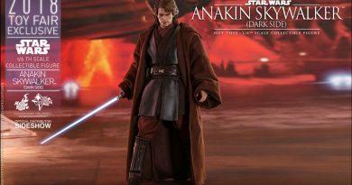 Hot Toys Toy Fair Exclusive Anakin Skywalker Dark Side