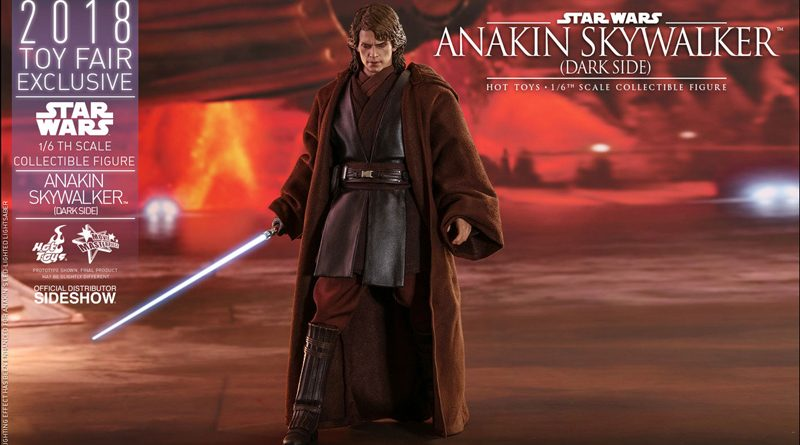 Hot Toys TF18 Anakin Skywalker Dark Side Banner