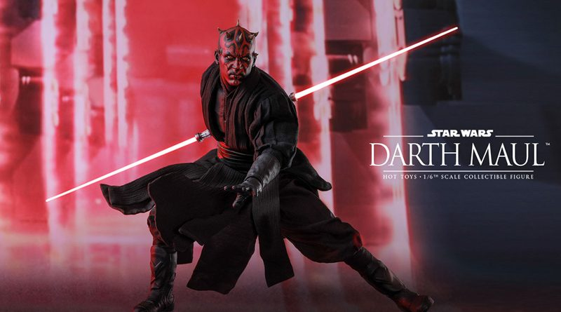 Hot Toys TPM Darth Maul Banner
