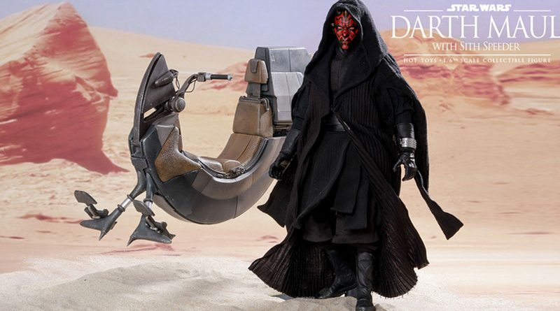 Hot Toys TPM Darth Maul Sith Speeder Banner