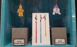 Hallmark 2019 Lego C-3PO R2-D2 Lightsabers