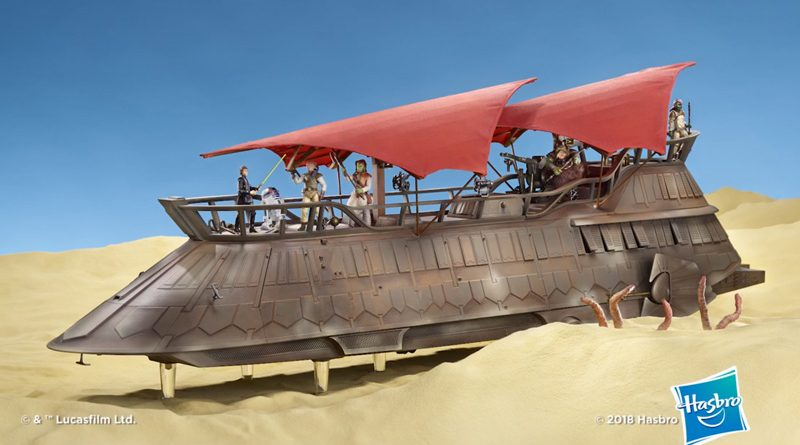 Hasbro Jabba Sail Barge Packaging Banner