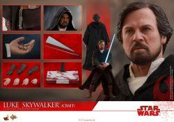 Hot Toys TLJ Luke Skywalker Crait 05