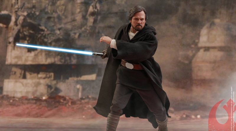 Hot Toys TLJ Luke Skywalker Crait Banner