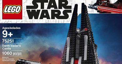 Lego Announces Amazon Exclusive Darth Vader's Castle