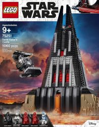 Lego 75251 Darth Vaders Castle Box Front