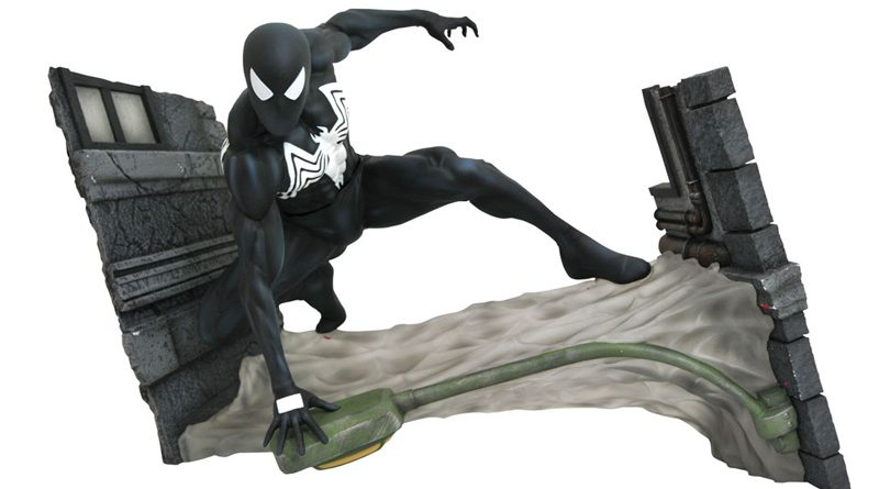 DST Marvel Comic Gallery Symbiote Spidey Banner