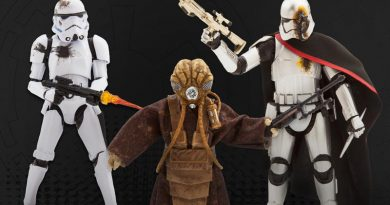 Disney Exclusive Black Series Figures Now Available