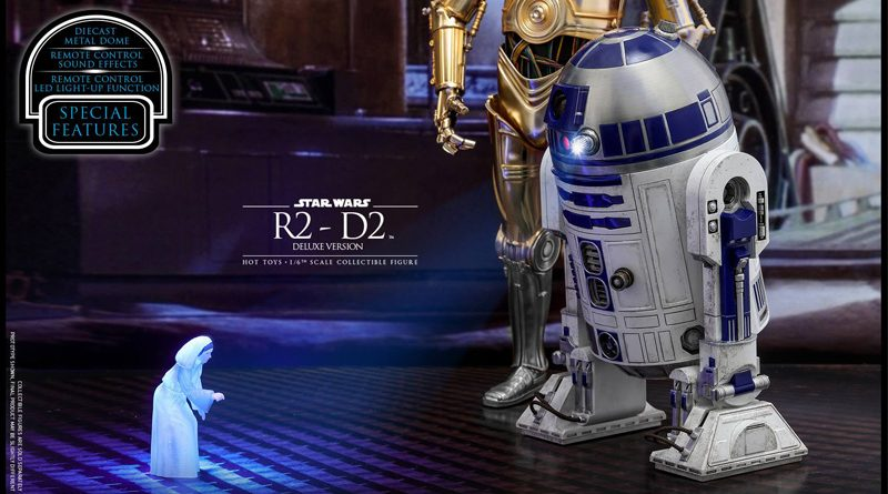 Hot Toys Deluxe R2-D2 Banner