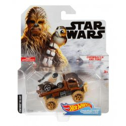 Hot Wheels Character Chewbacca Porg fpkg