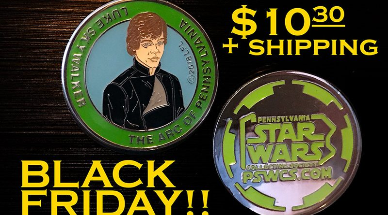 PSWCS Jedi Luke Black Friday