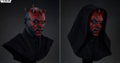 Life-size Darth Maul Bust By Sideshow