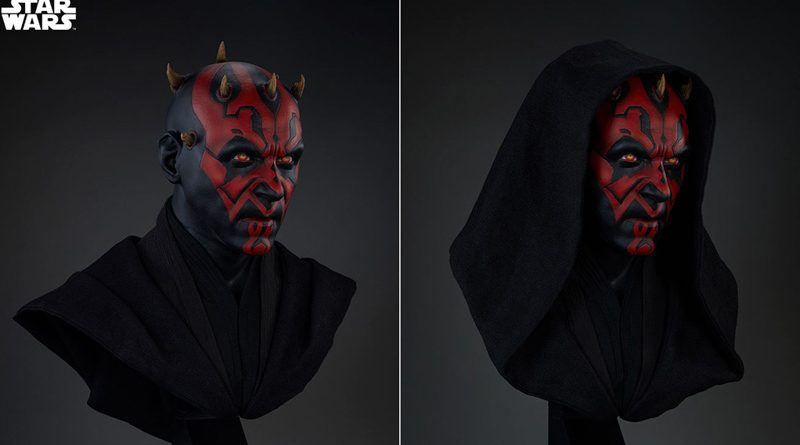 Sideshow LS Darth Maul Bust Banner