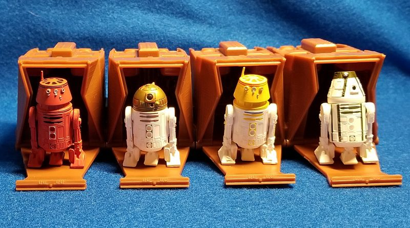 Disney Star Wars Mini Droid Collectible Figures Banner