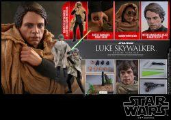 Hot Toys Deluxe ROTJ Luke Skywalker Accessories