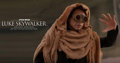 Hot Toys Announces Return Of The Jedi Luke Skywalker Figures