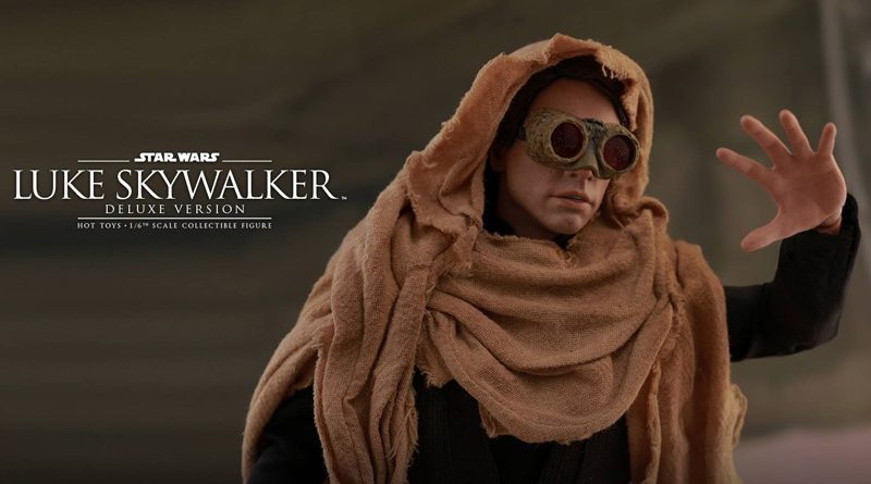 Hot Toys Deluxe ROTJ Luke Skywalker Banner