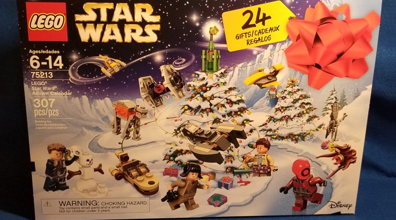 Lego 75123 Star Wars Advent Calendar 2018 Banner