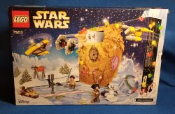 Lego 75213 Star Wars Advent Calendar 2018 Box Back