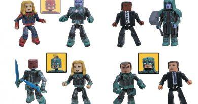 Captain Marvel Soars Into Walgreens Stores with New Minimates!