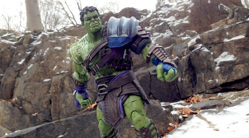 DST Marvel Select Thor Ragnarok Gladiator Hulk Banner