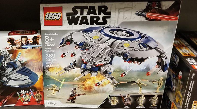 Lego 2019 SW Droid Gunship Banner