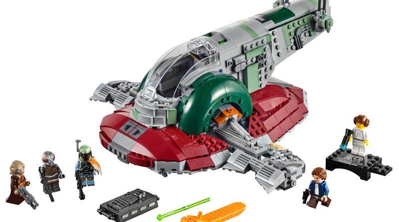 Lego 20th Slave I Banner