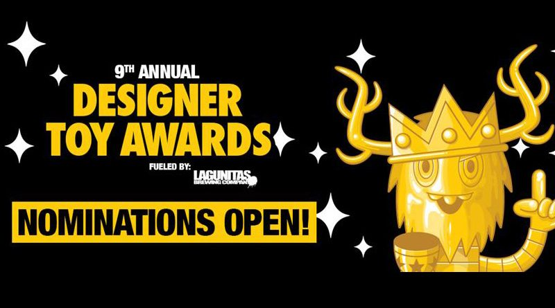 Designer Toy Awards 2019 Nominations Banner