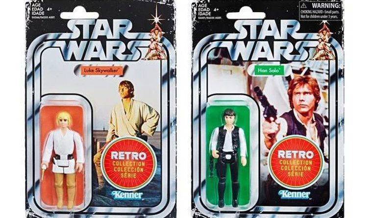 Star Wars Retro Action Figures From Hasbro
