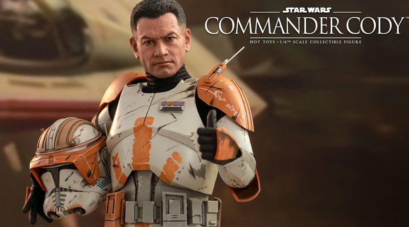 Hot Toys Commander Cody Preview Banner