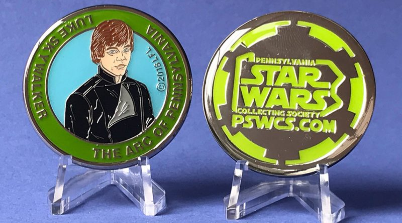 Last Chance To Order Luke Skywalker Charity Medallion Online