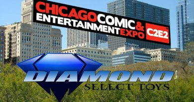 Diamond Select Toys is Bringing Prototypes and a Panel to C2E2!