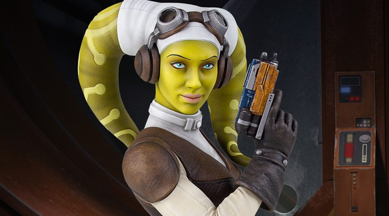 Hera Syndulla Bust And Darth Maul Statue By Gentle Giant For Celebration